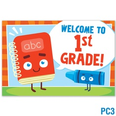Welcome to 1st Grade Postcard: click to enlarge