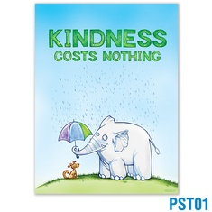 Kindness Costs Nothing Poster: click to enlarge