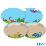 Dinosaurs Locker Tags