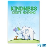 Kindness Costs Nothing Poster
