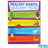Healthy Habits, Healthy You Poster