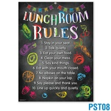 Lunchroom Rules Poster