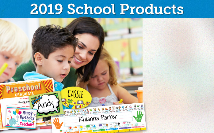 2018 School Products